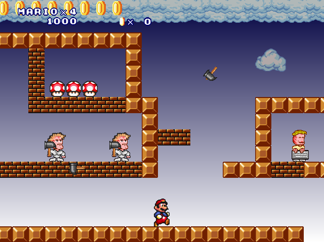 Mario Forever Remake - TheMarioVariable